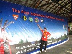Perkemahan Pathfinder se Indonesia (Uni Barat dan Uni Timur) yang diadakan di Palangkaraya